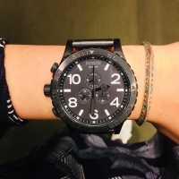 ALL BLACK by NIXON!!
