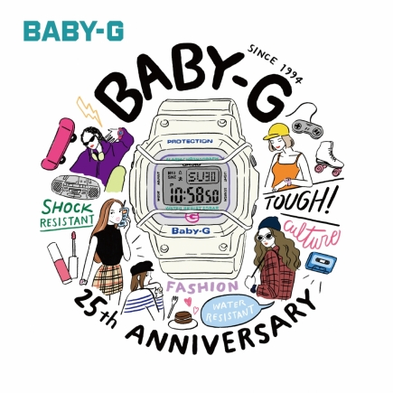 【BABY-G】25周年記念モデル!