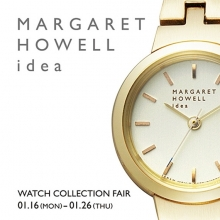 MARGARET HOWELL idea フェア開催中!